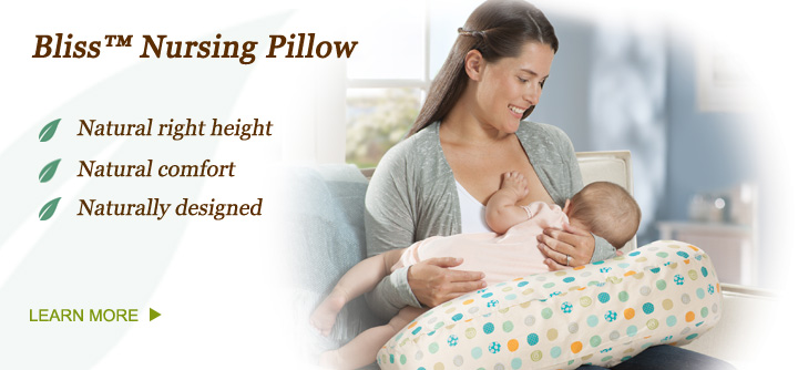 Bliss™ Nursing Pillow by Born Free